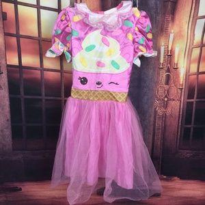 Shopkins Pink Cupcake Dress Tutu 6